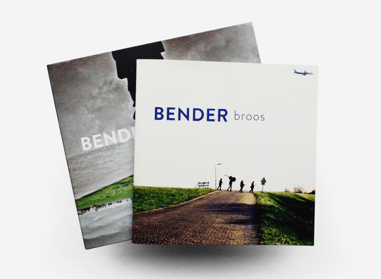 Bender ontwerp album broos